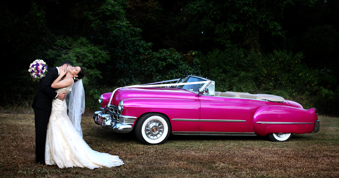 Cairns vintage car wedding photography