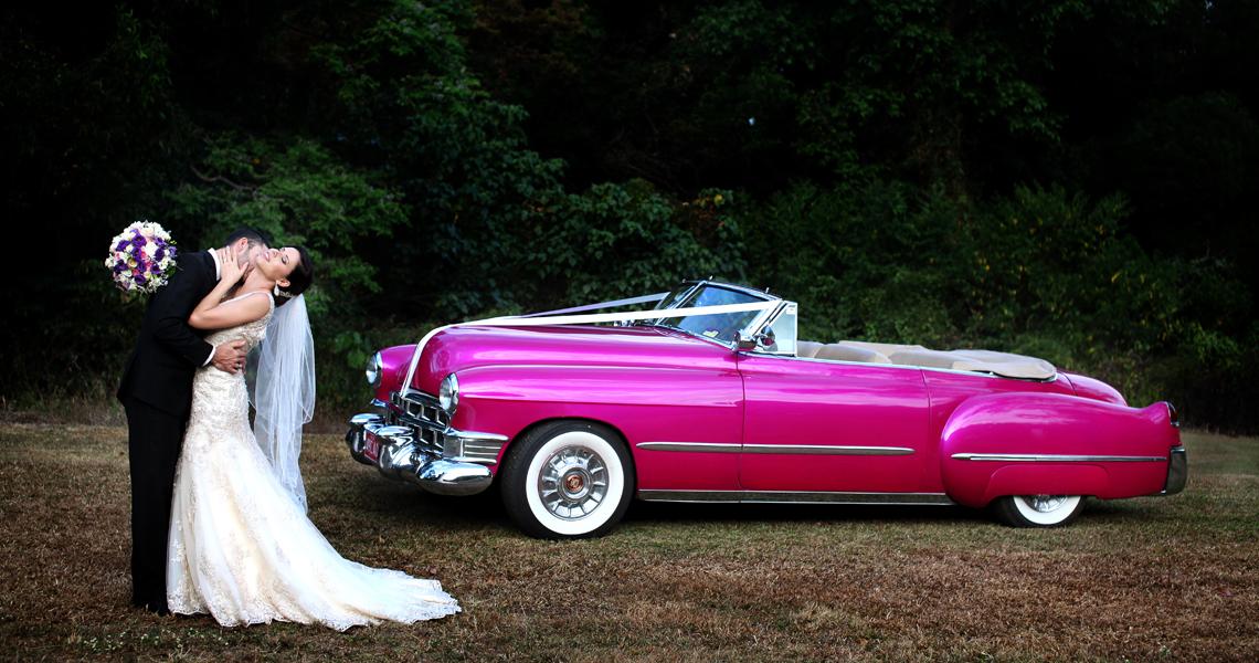 Cairns vintage car wedding photography